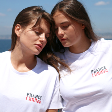 TSHIRT FRANCE BLEU BLANC ROUGE