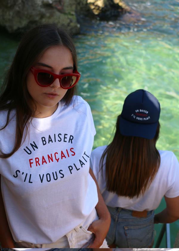 T-SHIRT UN BAISER FRANÇAIS